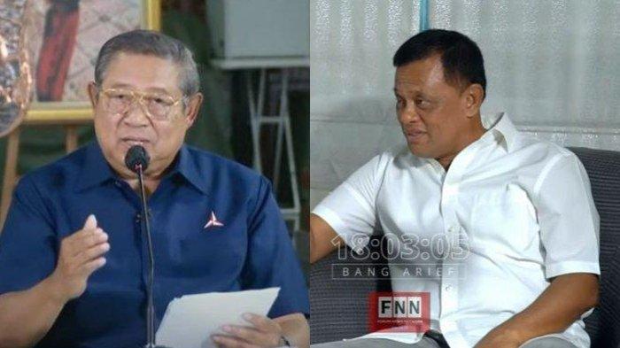 Kolase foto Susilo Bambang Yudhoyono (SBY) (kiri) dan Gatot Nurmantyo (kanan).