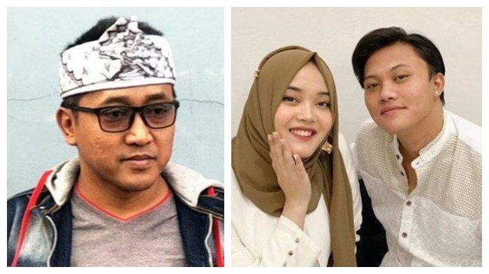 Kolase foto Teddy Pardiyana dan anak-anak Sule, Putri Delina serta Rizky Febian, Kamis (18/2/2021).
