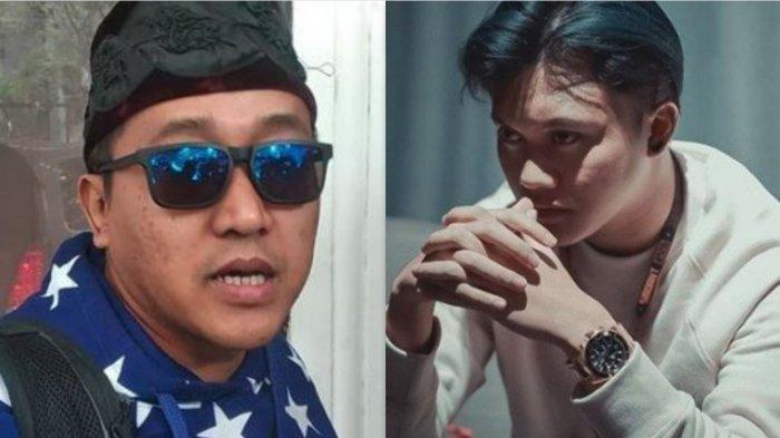 Kolase foto Teddy Pardiyana (kiri) - Rizky Febian (kanan)