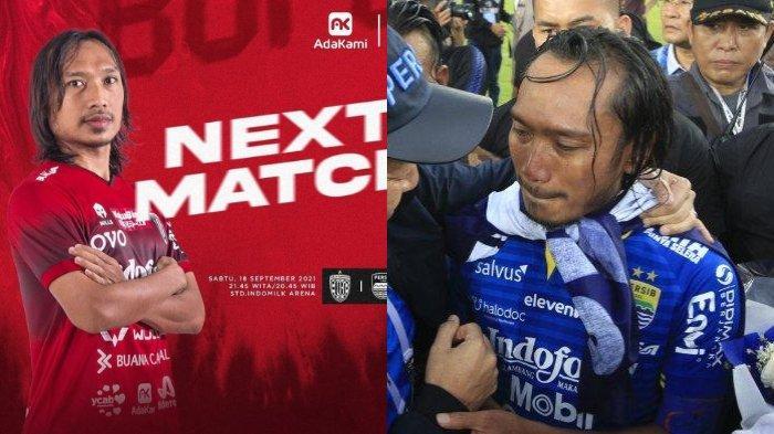 Laga Persib Bandung VS Bali United, Ajang Momen Balas Dendam bagi Hariono setelah Didepak Maung