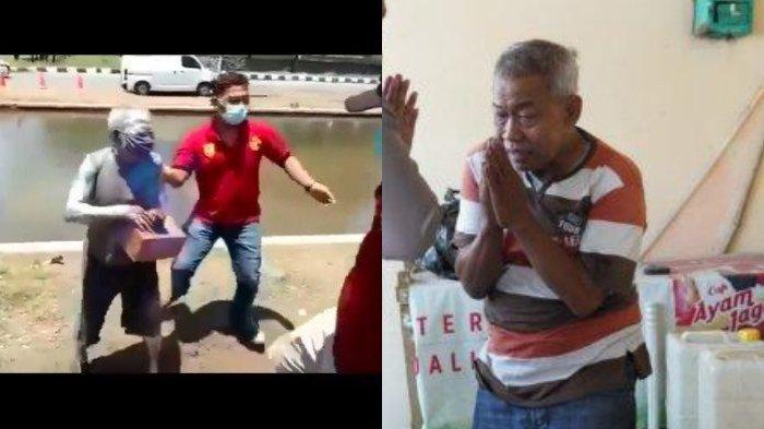 Gara-gara Malu, Pria Tua Pensiunan Polri di Semarang Pilih Jadi Manusia Silver