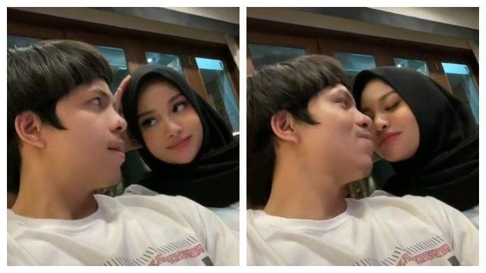 Atta Halilintar Posting Video Ciuman dengan Istri setelah sempat Ribut, Aurel: Cepat Pulang Sayang