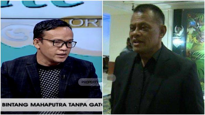 Kolase Ketua Umum Jokowi Mania, Immanuel Ebenezer dan mantan Panglima TNI Jenderal (Purn) Gatot Nurmantyo.