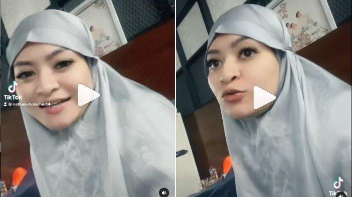Soal Isu Video Syur 20 Detik, Nathalie Holscher Beri Bantahan: Video Masa Laluku, Pakai Bikini