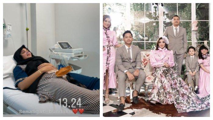 Kolase foto kondisi Ashanty dan keluarga Anang Hermansyah.