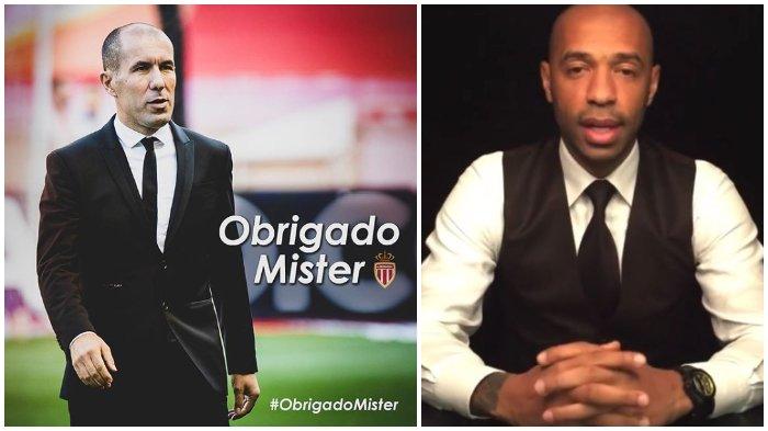 AS Monaco Resmi Pecat Leonardo Jardim, Isu Thierry Henry Jadi pelatih Anyar Kian Kuat