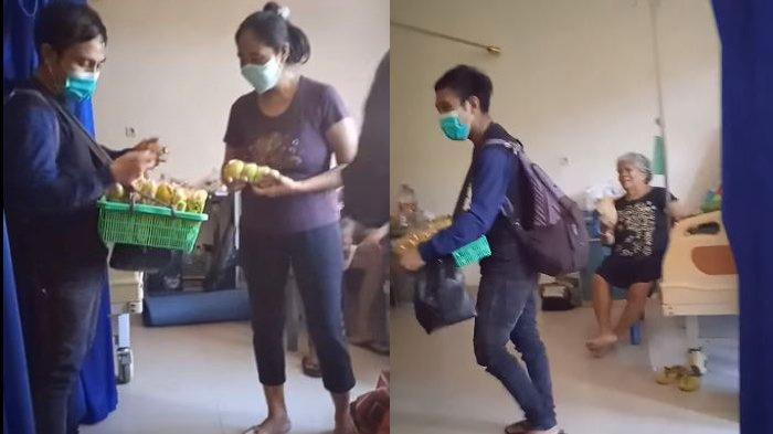 Viral Pedagang Asongan Jualan di Ruang Isolasi Pasien Covid-19, RSU Manado Medical Center Kecolongan