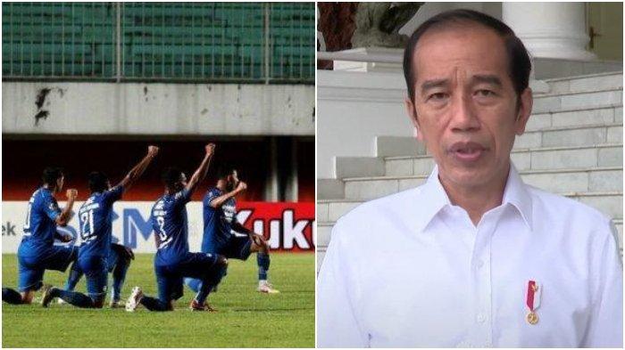 Puji Protokol Kesehatan Piala Menpora, Jokowi Buka Peluang Liga 1 2021 Boleh Dihadiri Penonton