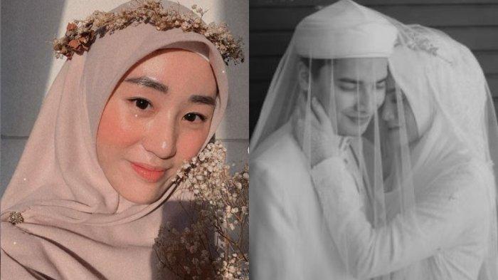 Kolase potret Larissa Chou berserta Alvin Faiz dan istrinya, Henny Rahman, Jumat (20/8/2021).