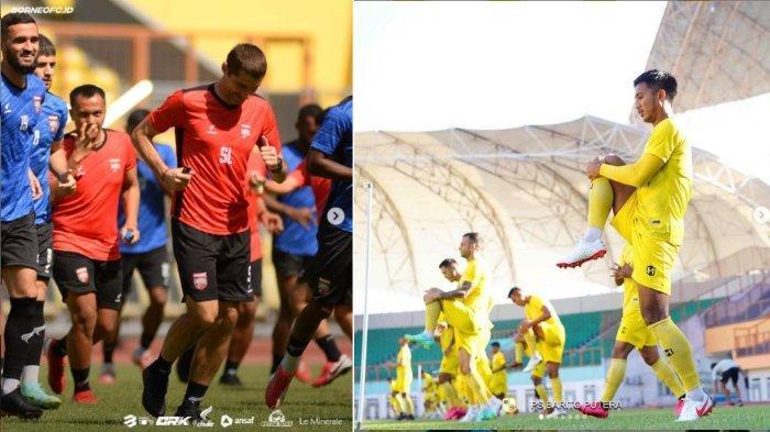Prediksi Pertandingan dan Susunan Pemain Borneo FC Vs Barito Putera di Pekan ke-3 Liga 1 2021