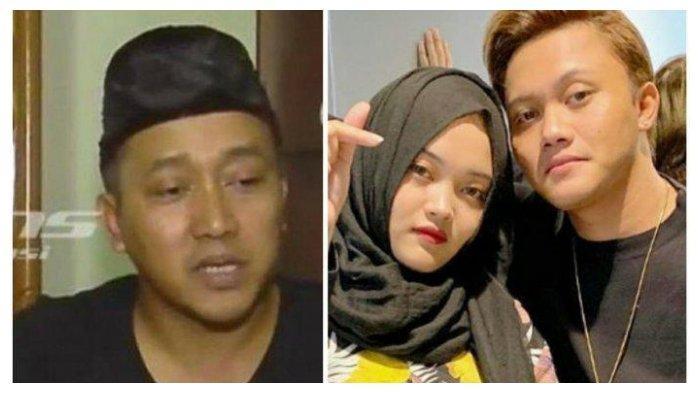 Kolase Teddy Pardiyana (kiri) dan Rizky Febian bersama Putri Delina, Kamis (11/3/2021).