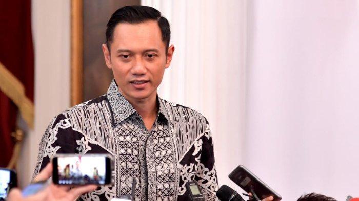 Komandan Kogasma Partai Demokrat, Agus Harimurti Yudhoyono (AHY) di Istana Merdeka, Kamis (2/5/2019) sore.