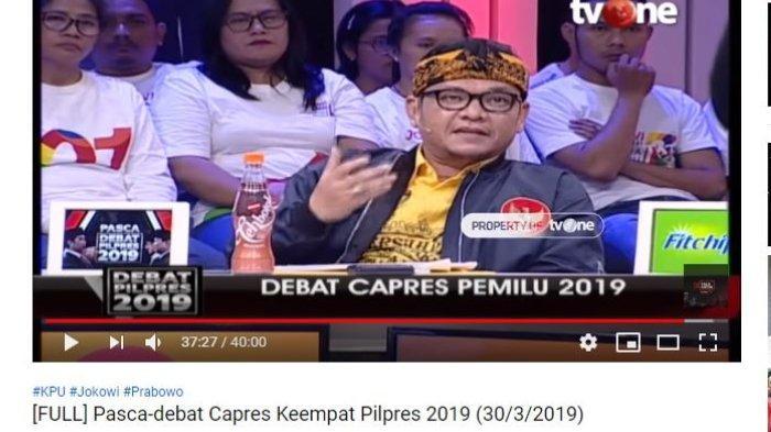 Puas dengan Penampilan Jokowi di Debat Capres, Ace Hasan: Lebih Up-to-date terkait Teknologi