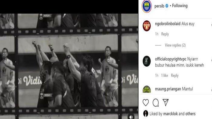 Komentar Bobotoh terkait jersey alternate Persib Bandung di Liga 1 2021.