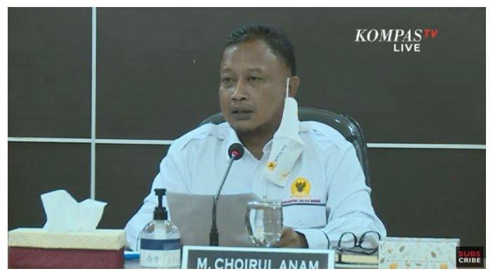 Komisioner Komnas HAM, Choirul Anam, dalam konferensi pers hasil penyelidikan kasus tewasnya enam laskar Front Pembela Islam (FPI), Jumat (8/1/2021).