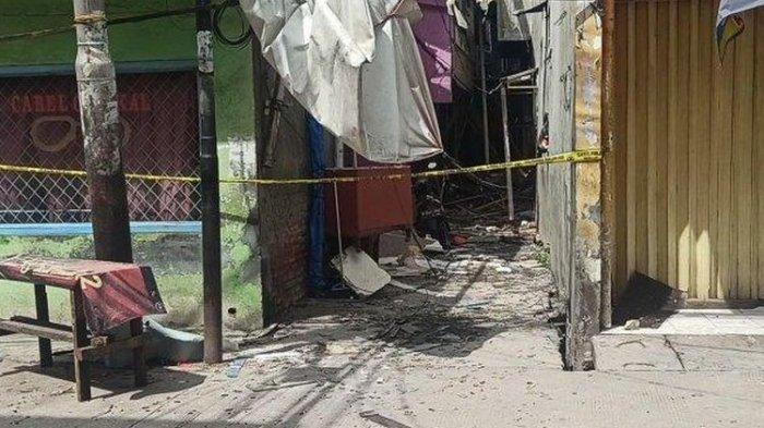Kronologi Ledakan di Teluk Gong Penjaringan, 4 Orang Alami Luka Bakar dan Kena Reruntutan Bangunan