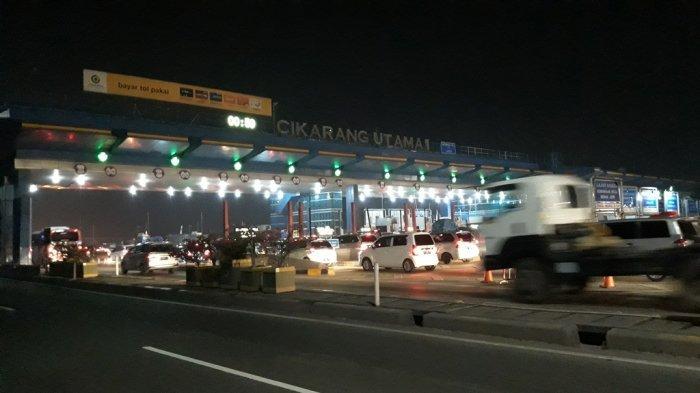 Melonjak 3 Kali Lipat, Kendaraan yang Melintas di Tol Cikarang Utama Mencapai 70 Ribu Kendaraan