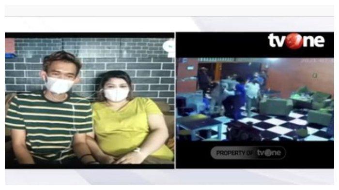 Korban kekerasan oknum Satpol PP Gowa mengaku tidak akan memaafkan tindakan kasar petugas, Kamis (15/7/2021).