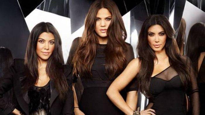 Kourtney, Khloe, Kim Kardashian