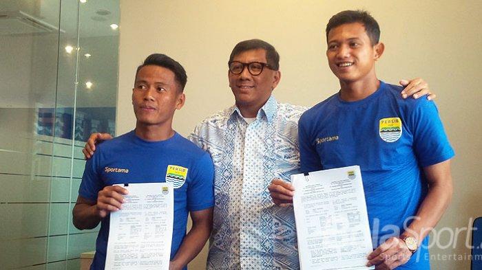 Nomor Punggung Penuh Makna yang Dipilih Muchlis Hadi Ning dan Ghozali Siregar di Persib Bandung!