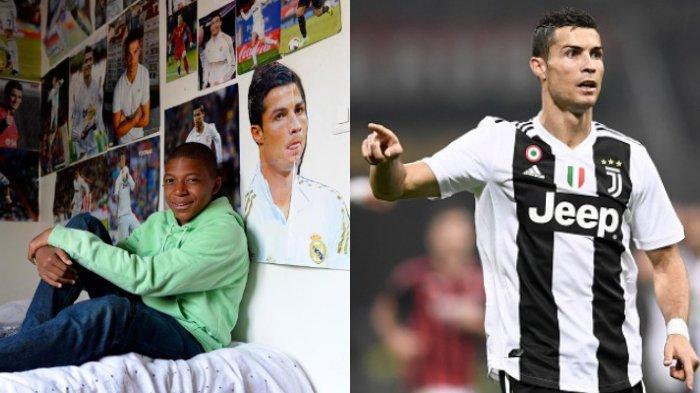 Kylian Mbappe Singkirkan Seluruh Poster Cristiano Ronaldo dari Kamarnya dan Ganti dengan Pemain Lain