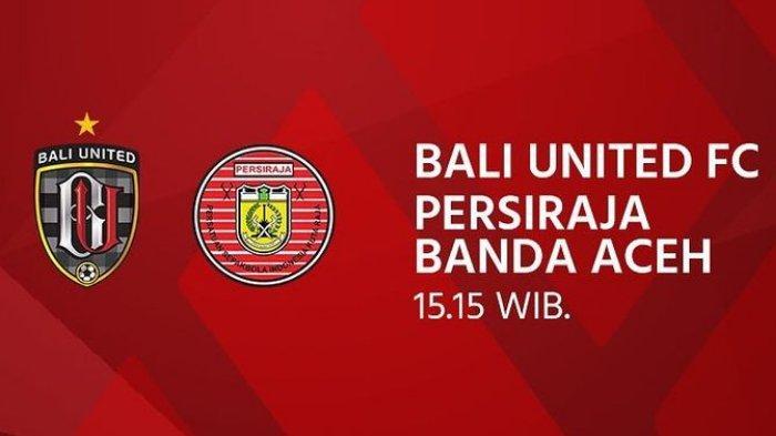 Sedang Berlangsung Live Streaming Laga Bali United Vs Persiraja Banda Aceh Di Piala Menpora 2021 Tribun Wow