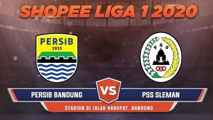 Link Live Streaming Liga 1 Persib Bandung Vs PSS Sleman di TV Online Pukul 18.30 WIB, Tonton via HP