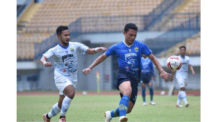 Pertandingan Internal Persib Bandung pada Website Persib Sabtu (29/5/2021). Fakta menarik pertandingan internal Persib Bandung.