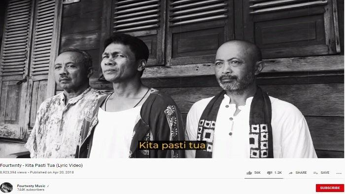 Kunci (Chord) Gitar dan Lirik Lagu 'Kita Pasti Tua' oleh Fourtwnty, 'Tunggu Saja Waktu'