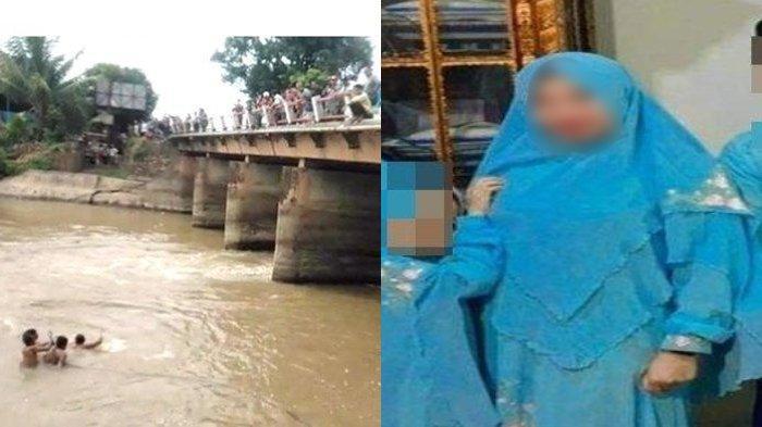 Suami dan 3 Anaknya Tewas Dalam Mobil Terjun ke Sungai, Begini Kondisi Istri yang Selamat