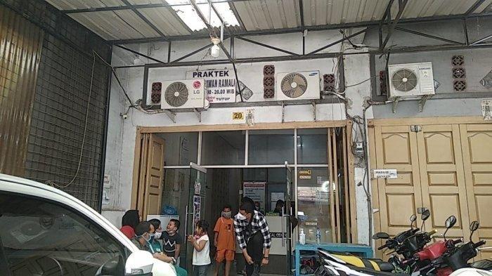 Suasana di Klinik Mandala Medical Center di Jalan Mandala By Pass, Kecamatan Medan Denai.