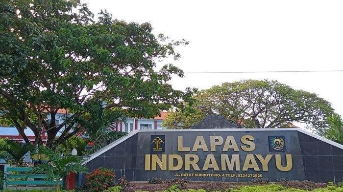 Lapas Kelas II B Kabupaten Indramayu, Senin (26/8/2019).
