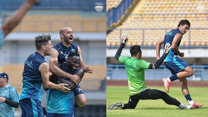 2 Pemain Senior dan 1 Wonderkid Persib Bandung Kembali Latihan untuk Laga Kontra Persita Tangerang