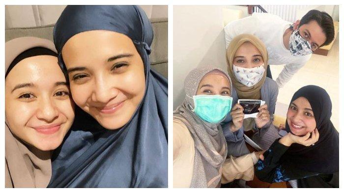 Potret kebahagiaan Laudya Cynthia Bella, Zaskia Sungkar, Irwansyah, dan Shireen Sungkar, Minggu (6/9/2020).