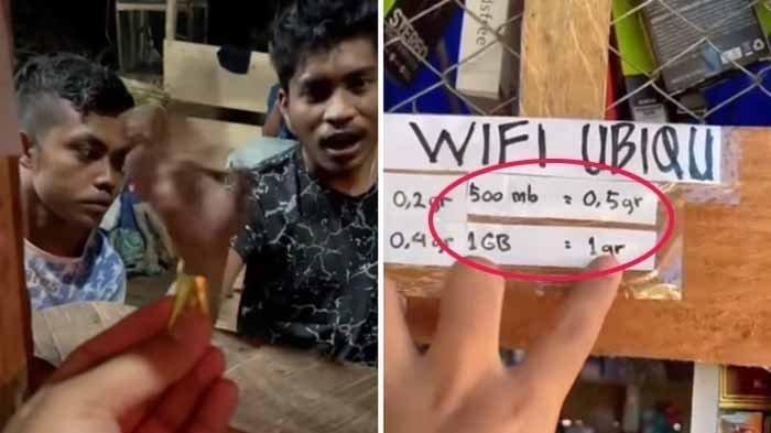 Fakta Viral Video Warga Beli Paket Internet 1 GB dengan Tukar 1 Gram Emas di Papua, Ini Ceritanya