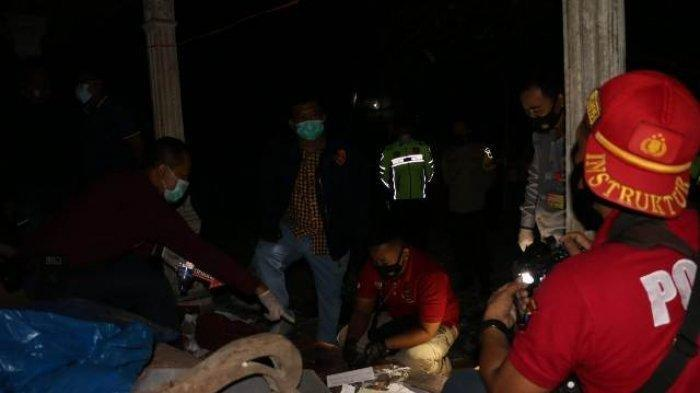 Ledakan petasan menyebabkan 3 warga meninggal di Desa Ngabean, Kecamatan Mirit, Kebumen, Rabu (12/5/2021) sore.