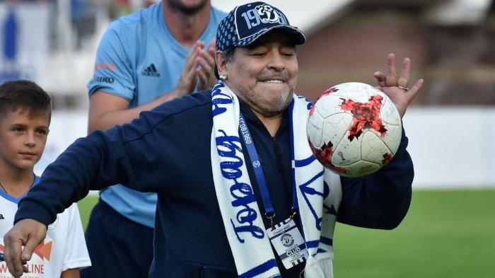 Markas Napoli akan Berubah Jadi Stadion Diego Armando Maradona, Diresmikan Pekan Depan
