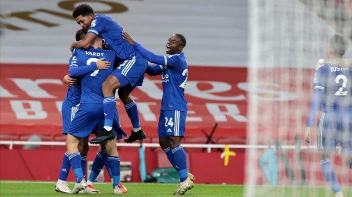 Hasil Lengkap dan Klasemen Liga Inggris: Leicester Pepet Liverpool di Puncak Klasemen