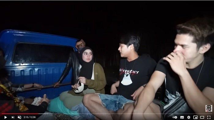 Lesti Kejora Tunjukkan Empang Tempatnya Mandi di Kampung, Rizky Billar Langsung Pura-pura Mual
