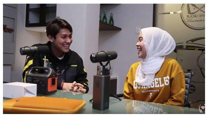 Lesti dan Rizky Billar dalam channel YouTube Basuki Surodjo, Rabu (19/8/2020). Lesti ungkap panggilan spesialnya untuk Rizky Billar.