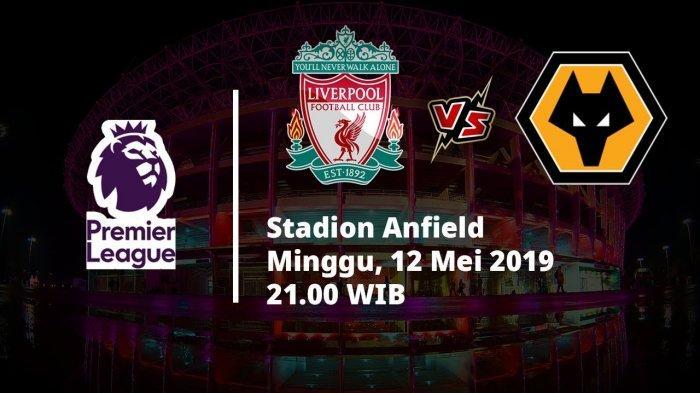Hasil Babak Pertama Liverpool Vs Wolves, Skor 1-0, Tonton Live Streaming Babak Kedua di Sini