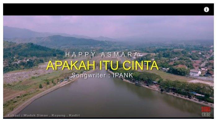 Lirik dan Kunci (Chord) Gitar Lagu 'Apakah Itu Cinta' - Happy Asmara: 'Perasaan yang Tanpa Kabar'