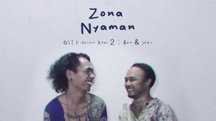 Berikut Lirik dan Kunci Chord Gitar Lagu Zona Nyaman Fourtwnty Tribun Wow