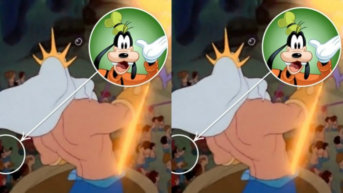 Karakter Goofie muncul pada fil The Little Mermaid