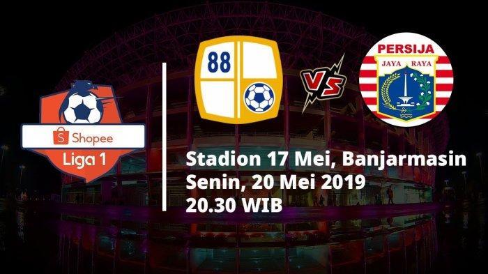 Prediksi Susunan Pemain Barito Putera Vs Persija Jakarta di Liga 1, Ivan Kolev Pasang Marko Simic