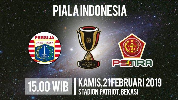 Sedang Berlangsung, Live Streaming Persija Jakarta Vs PS Tira Persikabo di PSSI TV dan Jawa Pos TV