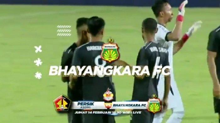 SEDANG BERLANGSUNG Live Streaming Persik Kediri Vs Bhayangkara FC, Tonton di HP