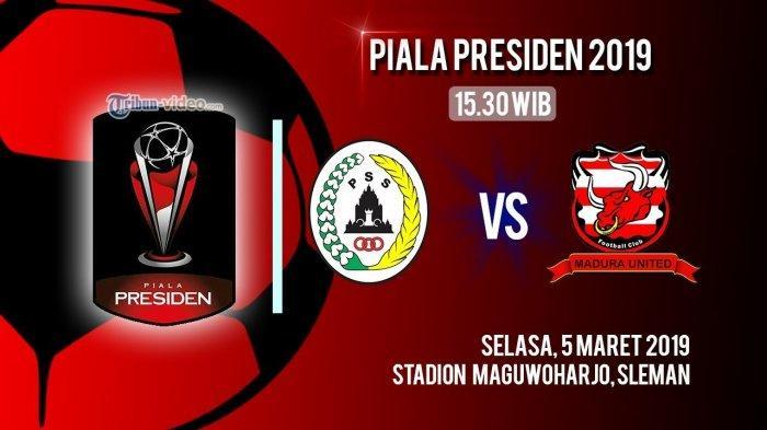 Live Streaming dan Susunan Pemain Madura United Hadapi PSS Sleman, Andik Vermansah di Cadangan