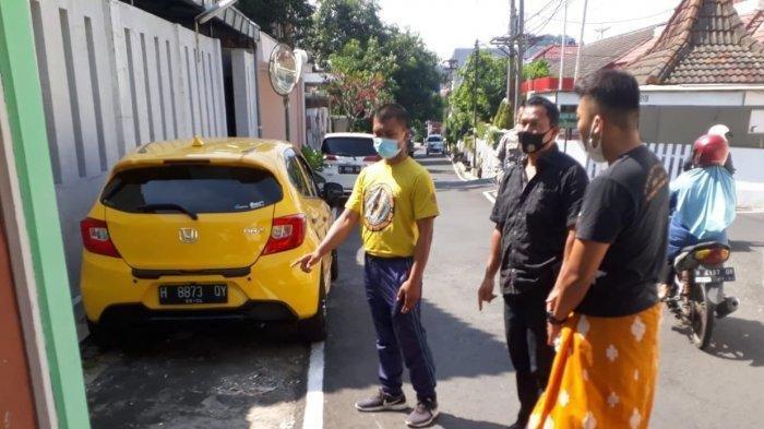 Lokasi kejadian pemukulan berujung maut oleh mahasiswa Jalan Tegalsari Barat Raya, RT 2 RW 13,Candisari, Kota Semarang, Selasa (7/9/2021).