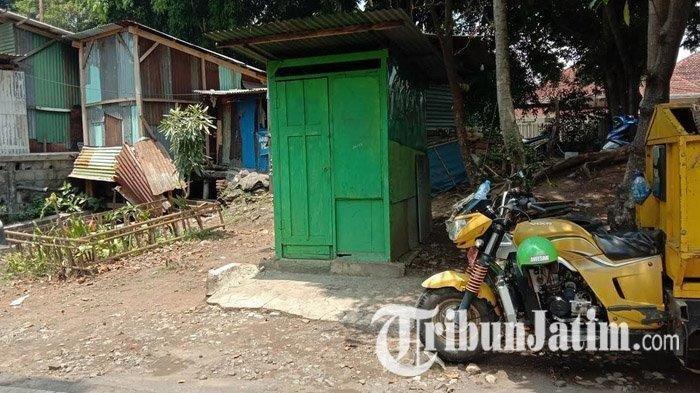 Lokasi kejadian video viral pemukulan wanita tua oleh seorang wanita di dekat Pasar Mergan, Kecamatan Klojen, Kota Malang saat didatangi TribunJatim.com, Minggu (25/10/2020)